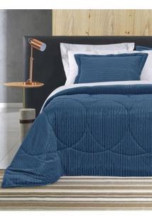 Edredom King Altenburg Blend Elegance Azul