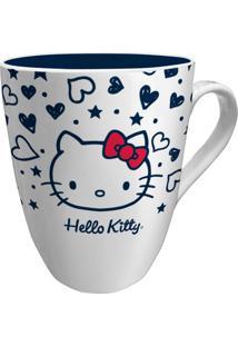 Caneca De Porcelana Branca Hello Kitty Old Urban Home