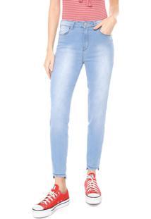 Calça Jeans Hering Skinny Push Up Azul
