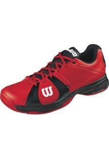 Tênis Wilson Rush Sport Vermelho/Preto