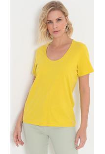 Camiseta Lisa- Amarela- Colccicolcci