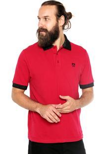 Camisa Polo Mr Kitsch Manga Curta Atlantic Rosa
