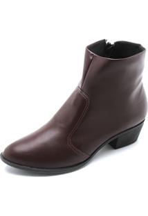 Bota Dafiti Shoes Lisa Vinho