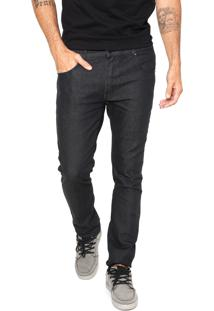 Calça Jeans Quiksilver Artor Black Azul