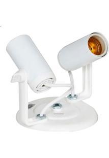 Spot Tubinho Duplo Branco - Sp1688/2 - Kin Light - Kin Light