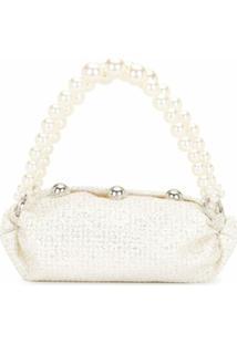 0711 Bolsa Tote Branca Pequena - Branco