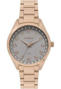 Relógio Condor Feminino Rose Analógico Co2035Moyk4C - Feminino