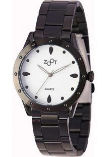 Relógio Zoot Casual Analógico Drop Preto Zw10094-P