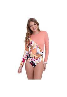 Maiô Pop Surf Fashion Onesie Roxy