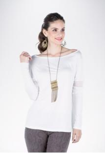 Blusa Mercatto Básica Off-White