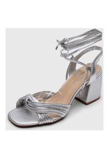 Sandália Bottero Amarração Prata