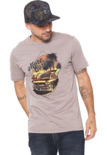 Camiseta Mcd Sunshine Marrom