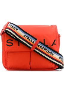 Stella Mccartney Logo-Strap Shoulder Bag - Vermelho