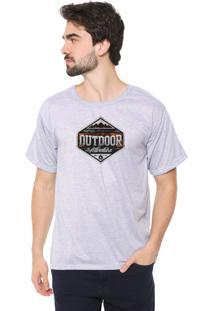 Camiseta Eco Canyon Outdoor Cinza