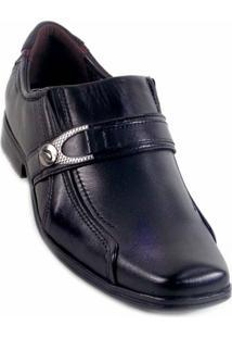 Sapato Social Pegada Masculino Mestiço Preto - 43 - Unissex