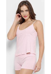 Conjunto Pijama Flora Zuu Básico 3 Peças Feminino - Feminino