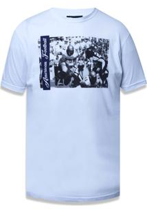 Camiseta New Era Basico M/C New England Patriots Branco