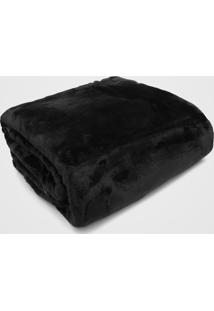 Cobertor Queen Kacyumara Blanket High Preto