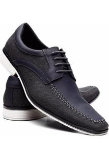 Sapato Social Masculino Thor Venetto - Masculino-Marinho