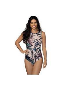 Body Demillus Sexy 98511 Rosa Seco Estampa