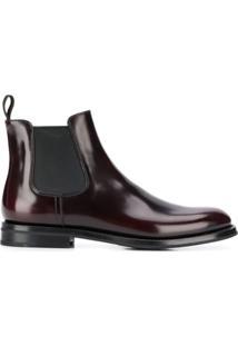 Church'S Ankle Boot - Vermelho
