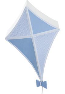 Lustre Pipa Potinho De Mel Azul - Kanui