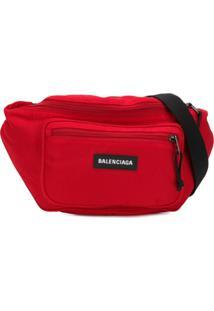 Balenciaga Pochete 'Explorer' Com Logo - Vermelho