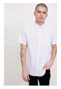 Camisa Com Bolso Tricoline