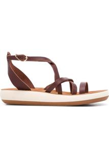 Ancient Greek Sandals Sandália Delia - Marrom