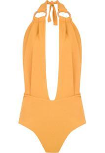 Framed Body 'Malibu' Argola - Amarelo