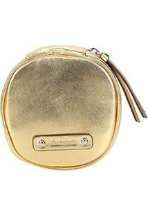 Necessaire Shoestock Joias - Feminino-Dourado