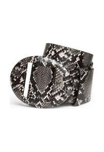 Cinto Cintura Medio Com Brilho Skin