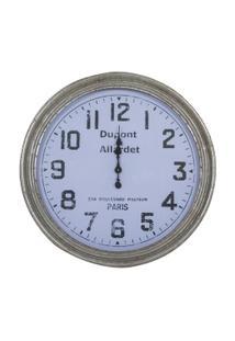 Relógio Decorativo De Parede Dupont - Unissex