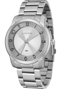 Relógio Feminino Lince Lrm4590L-S2Sx Analógico 5Atm