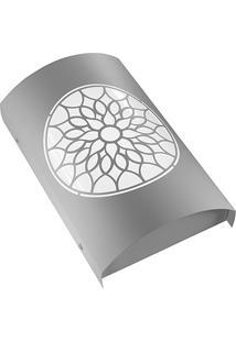 Arandela Em Aço Bivolt Arco Árabe Branca 6000K Luz Branca