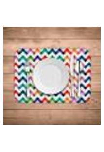 Jogo Americano Wevans Colorful Abstract Kit Com 2 Pçs