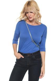 Blusa Lunender Lisa Azul