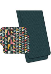 Jogo Americano Love Decor Wevans Com Caminho De Mesa Geometric Color Colorido
