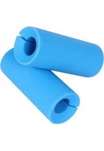 Pegador Para Barra Olímpica Azul Fat Grip - Liveup Sports Ls2252