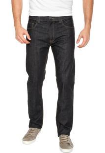 Calça Jeans Ellus Slim Bolsos Azul