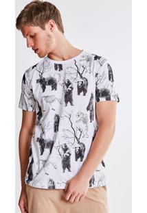 Camiseta Estampada Ursos