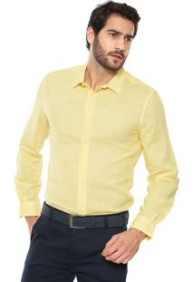 Camisa Forum Smart Amarela