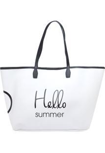 Bolsa Dumond Shopping Bag Branco