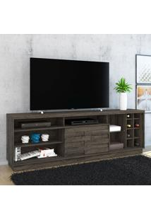 Rack Para Tv 1 Porta Carmem 502025 Vulcano - Madetec