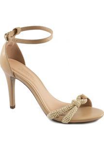 Sandália Lace Up Knot Verão 2020 Sapato Show 1853002