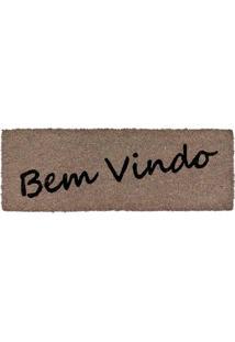 Capacho Fibra De Coco Slim 01 - 0,26X0,75M - Edantex