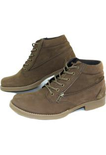 Bota Casual Ln Boots Nobuck 18Rt - Masculino