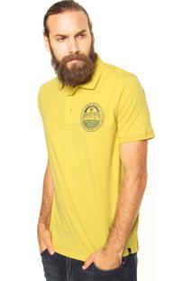 Camisa Polo Zebra Superior Trail Amarela