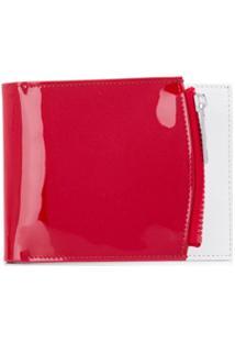 Maison Margiela Carteira Com Patch De Logo - Vermelho