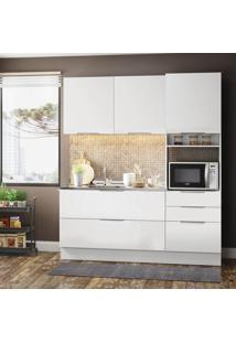 Cozinha Compacta Stella Smile 5 Pt 3 Gv Branco